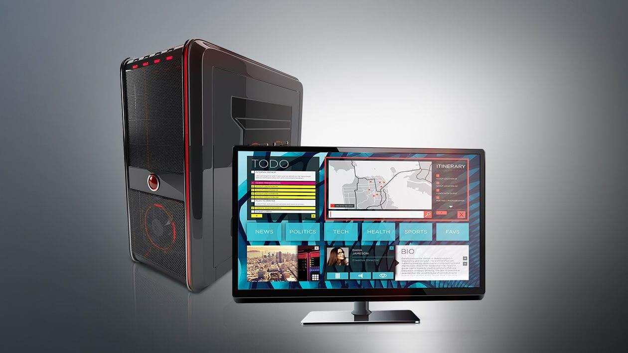 Processeur coeurs pour ordinateur de bureau circuit