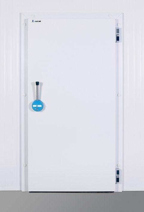 Porte battante / pour chambre froide - D series - Isocab