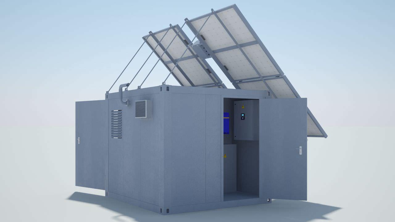 Groupe électrogène triphasé   diesel   hybride   50 Hz - NTT ENERGY d69f5d753611