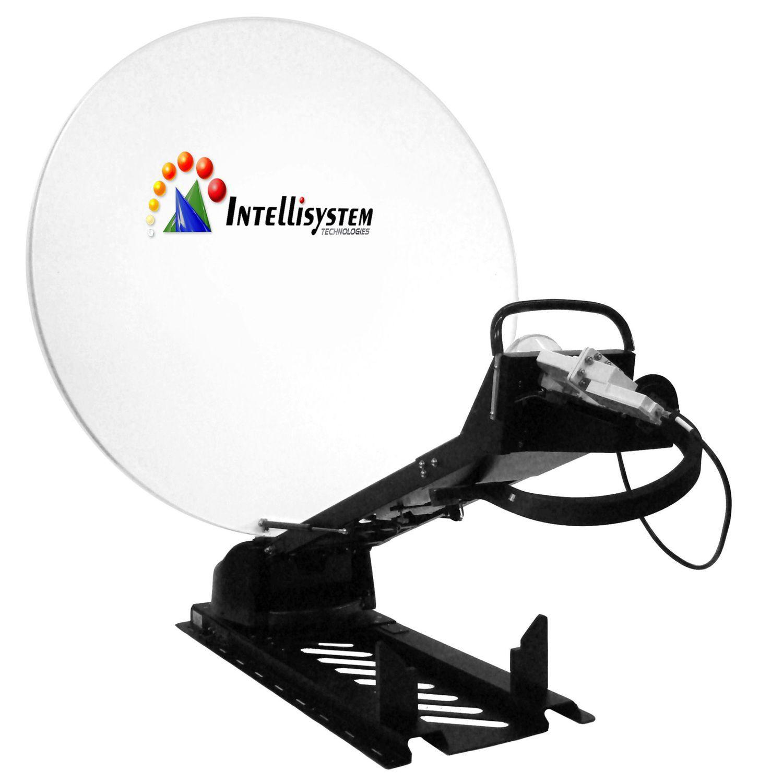 antenne satellite / à large bande / parabolique / pour véhicule - it