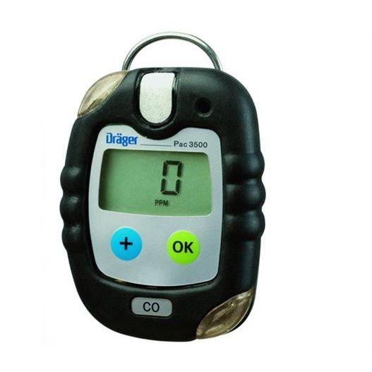 Détecteur De Gaz / Co / Individuel / Compact - Pac® 3500 - Dräger