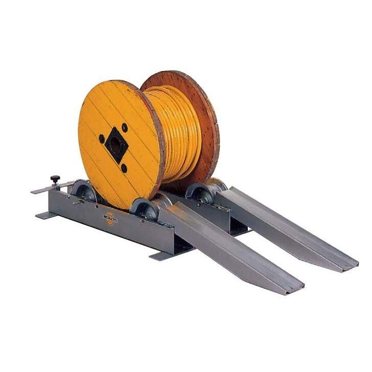 devidoir bobine fil electrique dérouleur de bobine - à rouleaux - O6