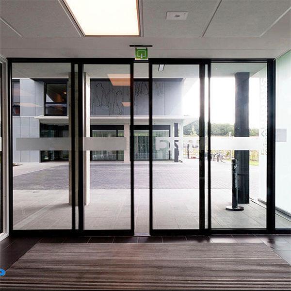 Porte Coulissante  En Aluminium  En Verre  Pour LIntrieur
