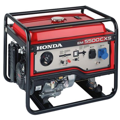 groupe électrogène monophasé   à moteur essence   portable - 230 - 250 V    EM 5500CXS 8b09a2cd8d2f