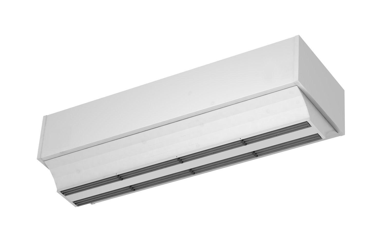 Rideau d\'air vertical / pour porte industrielle / avec chauffage à l ...