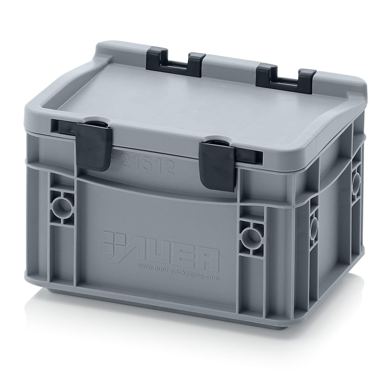 Caisse En Plastique Empilable Avec Couvercle Ed Series Auer