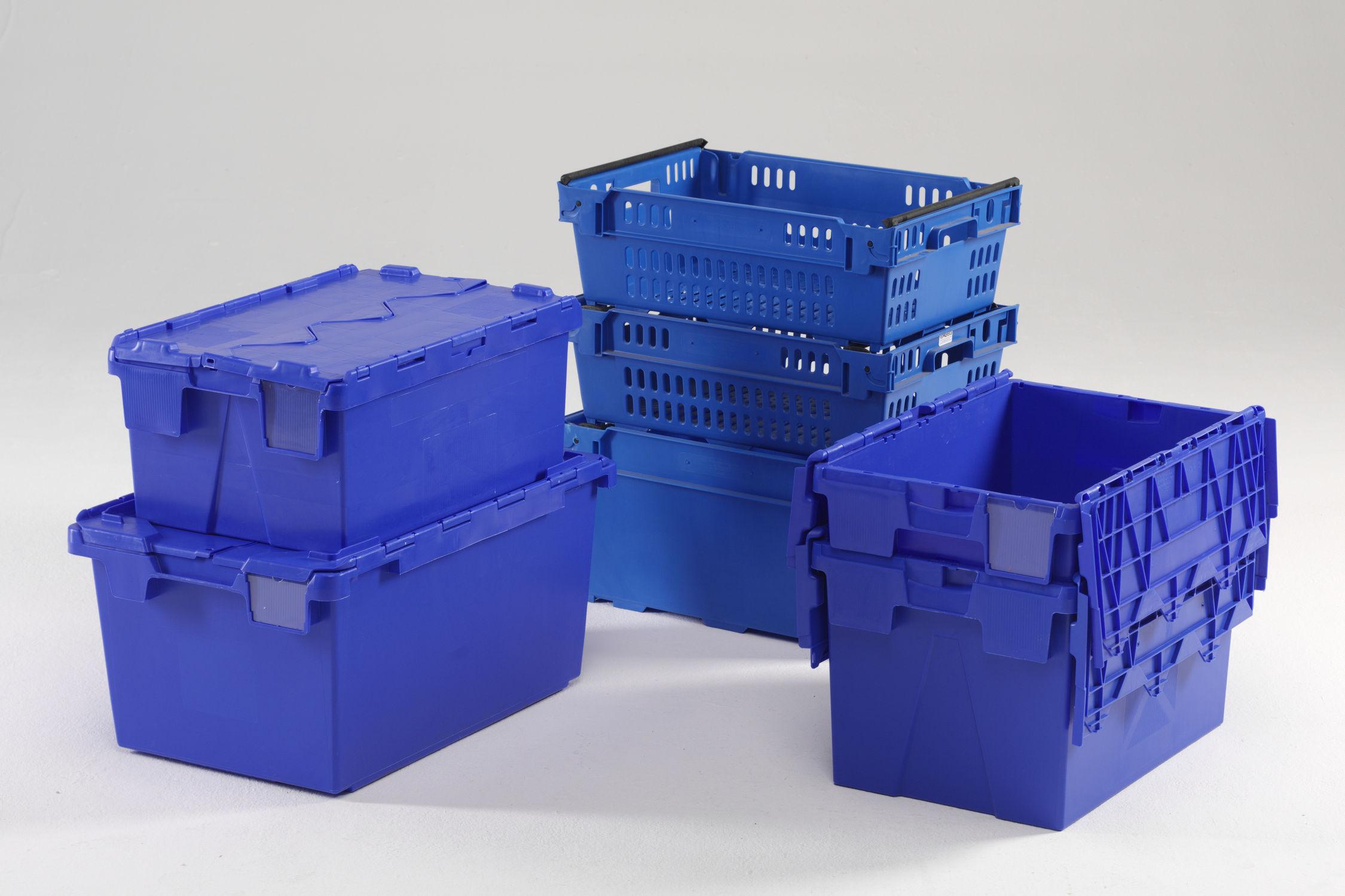Caisse En Plastique De Transport Avec Couvercle Alc Alr