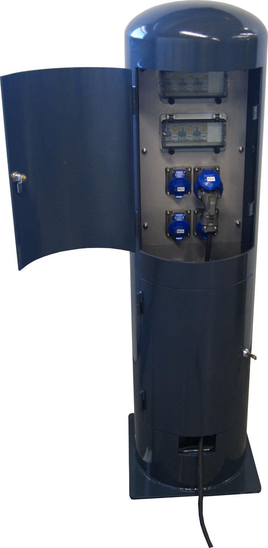 Supérieur Borne De Distribution électrique Fixe / Du0027extérieur - AM 12