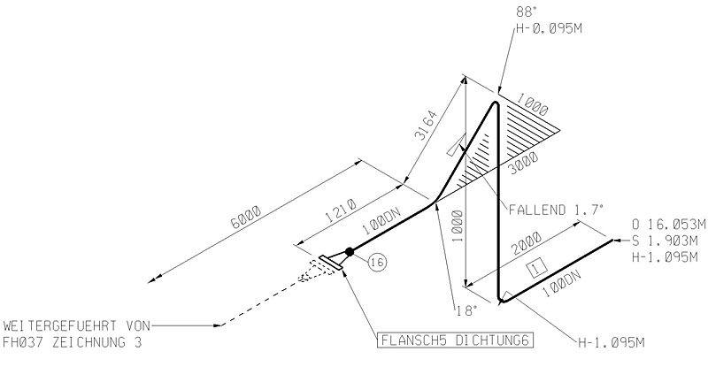 isométrique tuyauterie