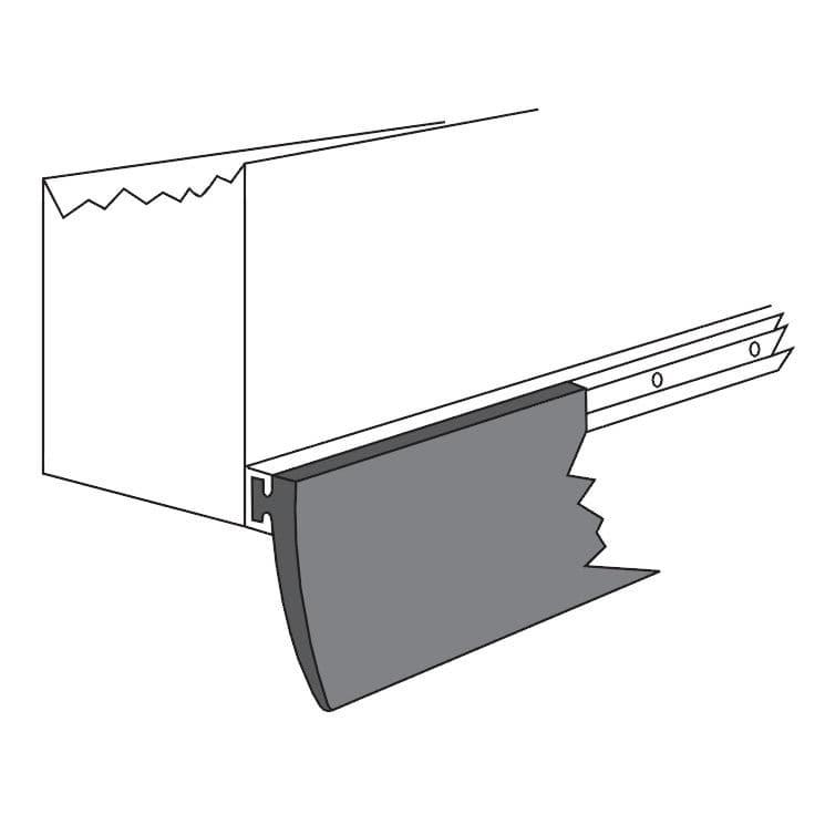 joint pour porte de garage - garagÉtanch® series - wattelez