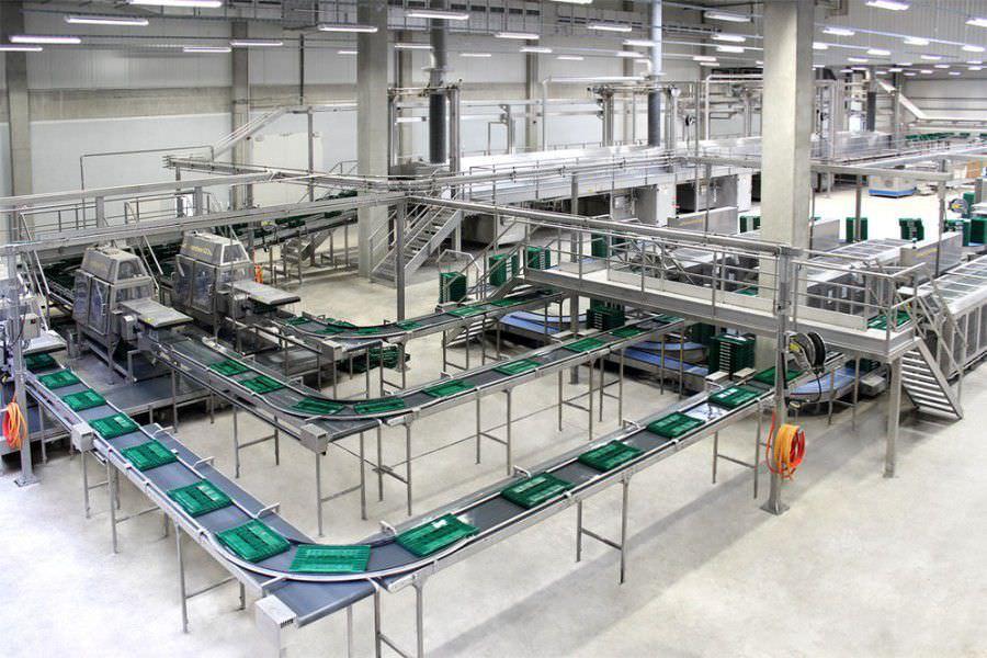 Machine de lavage automatisée / moyen format / de caisses / pour