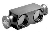 Capteur de force à double cisaillement / type poutre / en acier inoxydable / par jauge de contrainte