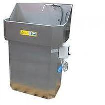 Laveuse à eau / à jets d'eau / manuelle / de process