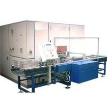 Machine de lavage à eau / avec sécheur / par aspersion / pour dégraissage