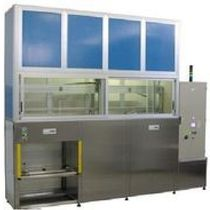 Machine de lavage à ultrasons / automatique / manuelle / avec panier