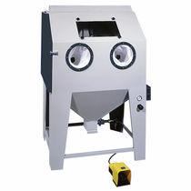 Cabine de sablage à pression / manuelle / avec carousel