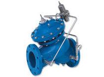 Soupape de décharge à commande hydraulique / à membrane / en-ligne