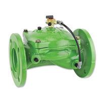 Vanne à membrane / pour l'eau / à commande hydraulique