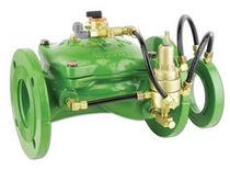 Vanne à soupape / pour l'eau / à commande hydraulique / de régulation de débit