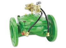 Vanne à membrane / pour diesel / à commande hydraulique / de régulation