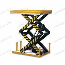 Table élévatrice à double ciseaux / hydraulique