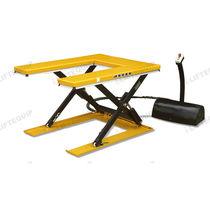 Table élévatrice à ciseaux / hydraulique / à plateau en U