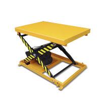 Table élévatrice à ciseaux / hydraulique / sur coussin d'air
