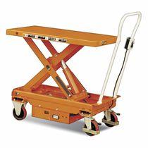 Table élévatrice à ciseaux / électrique / roulante