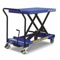 Table élévatrice à ciseaux / hydraulique / mobile
