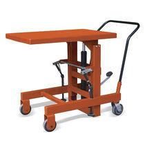 Table élévatrice à colonne / hydraulique / mobile
