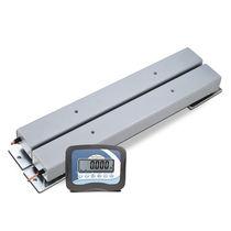 Barre peseuse avec afficheur LCD / avec batterie / compacte