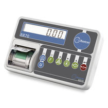 Indicateur de pesage affichage LCD / benchtop / IP54 / avec imprimante intégrée