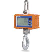 Crochet peseur avec afficheur LCD / pour l'industrie métallurgique