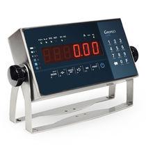 Indicateur de pesage affichage à LED / IP68 / IP65 / multifonction