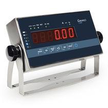Indicateur de pesage affichage à LED / mural / benchtop / IP65