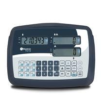 Indicateur de pesage affichage LCD / benchtop / avec batterie