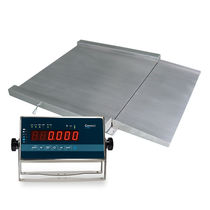 Balance à plate-forme / avec afficheur à LED / en acier inoxydable / IP65