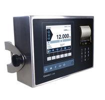 Indicateur de pesage avec afficheur graphique LCD / benchtop / mural / IP54