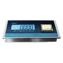 Indicateur de pesage affichage LCD / IP54 / avec imprimante intégrée / en acier inoxydable