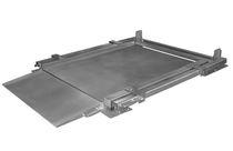 Balance au sol à profil bas / avec indicateur séparé / en acier inoxydable