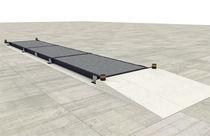Pont bascule en béton / pour véhicules
