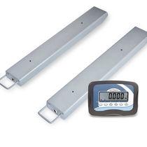 Barre peseuse à quatre capteurs / compteuse / avec indicateur séparé / numérique