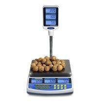 Balance benchtop / avec afficheur LCD / en acier inoxydable / alimentaire