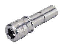Bouchon de réduction / cylindrique / mâle / en acier inoxydable