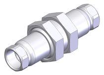 Raccord push-to-lock / droit / hydraulique / en acier inoxydable