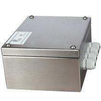 Boîte de dérivation en saillie / IP65 / en inox / avec presse-étoupe
