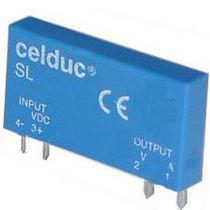 Relais statique miniature / fin / de puissance / pour circuit imprimé
