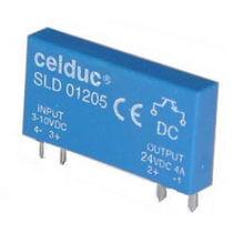 Relais statique miniature / pour circuit imprimé / monophasé