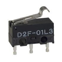 Micro-rupteur à levier / unipolaire / subminiature / électromécanique
