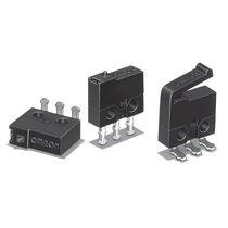 Micro-rupteur unipolaire / électromécanique / à action instantanée / ultraminiature